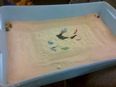 Dream Analysis Sand Tray Therapy  Activity: Student 4