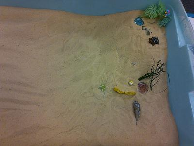 Transitional Objects for Sand Tray Therapy Class Student 4