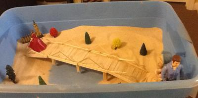 Final Bridge for Sand Tray Therapy Class