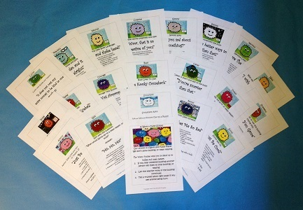 Free Bullying Prevention Technique Cards / Tips Printables