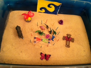 Anger Management Tray Therapy Tray by Student #5