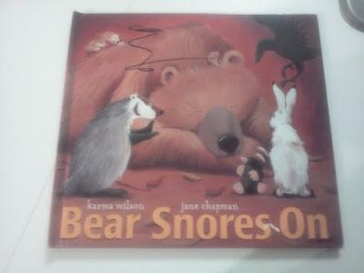 Play Therapy Bibliotherapy Book: BEAR SNORES ON by Karma Wilson