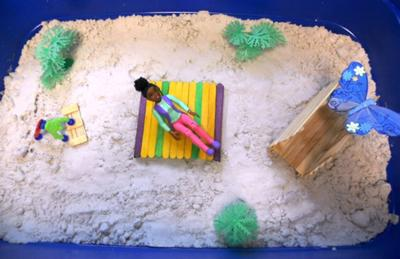 Bridges - Sand Tray Therapy Training for therapist to try!