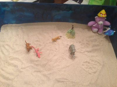 Sand Tray Therapy Childhood Activity Student 5