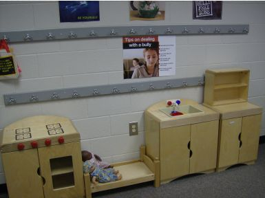 Play Therapy Room Cooking Area