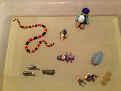 Dream Analysis Sand Tray Therapy #1 Activity