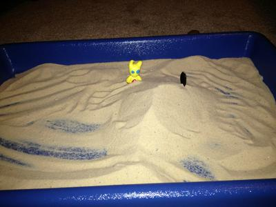 Exposure Therapy / Sand Tray Therapy Confronting Your Fears Sand Tray