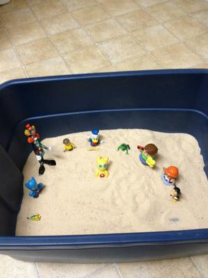 Sand Tray Therapy SandTray Day 4 of 7 Student #4