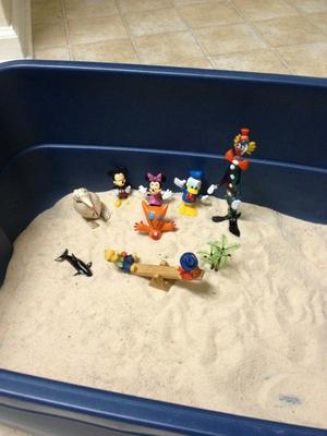 Day 6 of 7 Student #4 Sand Tray Therapy Class Assignment