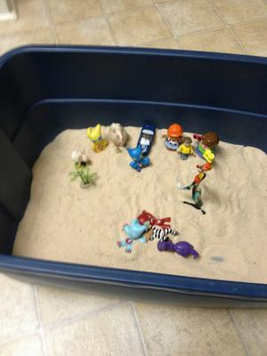 Day 7 of 7 Student #4 for Sand Tray Therapy Class