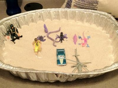 Sand Tray Therapy & The Family Tray