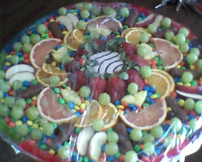 Fruit and Candy Mandala in play therapy class