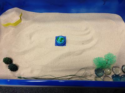 2014 : House, Tree, Person in the Sand Tray for Sand Tray Therapy Class