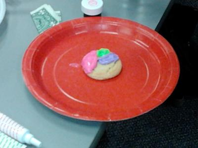 Finished Play Therapy Feeling Cookie