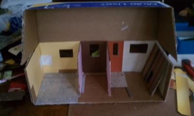 The beginning...for Doll House Play Therapy Activity