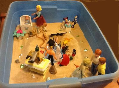 My Personality Sand Tray Therapy Type