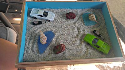 Unique Example for Sand Tray Therapist: Sand Tray Zen Garden
