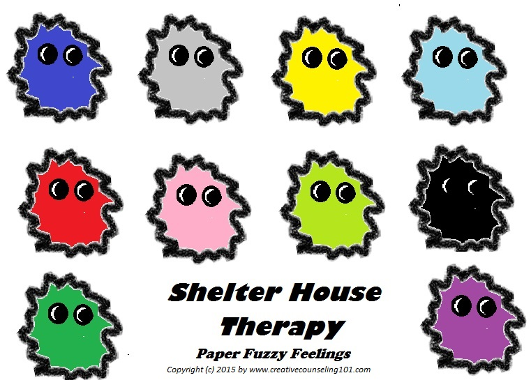 Free Art Therapy Technique Shelter House Worksheets – Art Therapy Worksheets