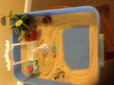 Peace Garden by E. for Sand Tray / Sand Play THerapy