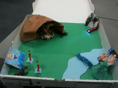 Free play therapy activity: Make a Fairy Tale Miniature World with Play Therapy Clients
