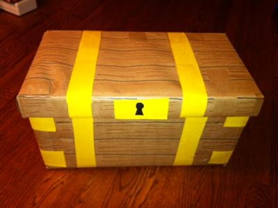Treasure Box : Play Therapy Create Your Own Play Therapy Game : Key to the Treasure