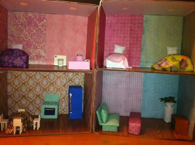 play therapy doll house example