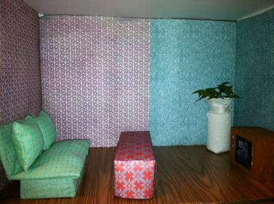 my play therapy doll house room