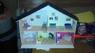 Play Therapy: Doll House Final Exam from Play Therapy Studen