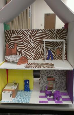 Play Therapy Doll House: My House