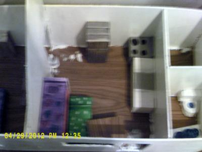 Room in a Play Therapy Doll House Example