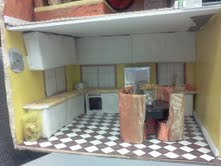 Kitchen in the Dollhouse Play Therapy Activity