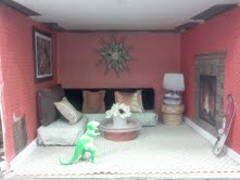 Livingroom in the Dollhouse Play Therapy Activity