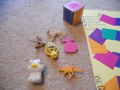 Play pieces: Play Therapy Game - Favorite Game