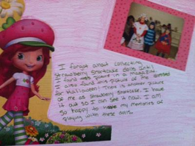 Inner Child Therapy Project for Adult Play Therapy: Strawberry Shortcake