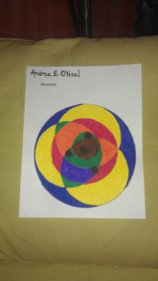 Play Therapy Mandala: Life Cycles Mandala- Grief Therapy for Play Therapists and School Counselors