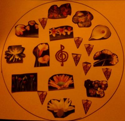 Play Therapy Mandala Example 6