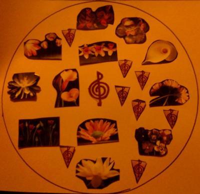 Play Therapy Mandala Example 6