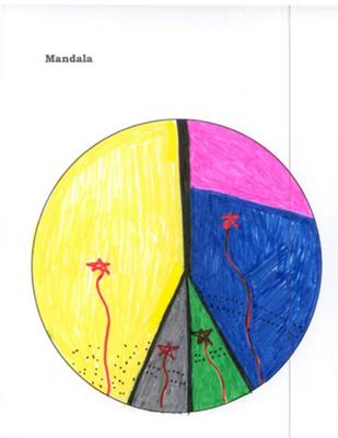 Play Therapy Mandala for School Counseling: Personal Growth