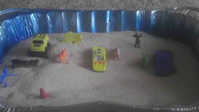 Play Therapy Sand Tray Therapy: Follow my journey into the sand tray.