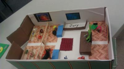 Play Therapy idea for clients in a custody battle: Courthouse view 2