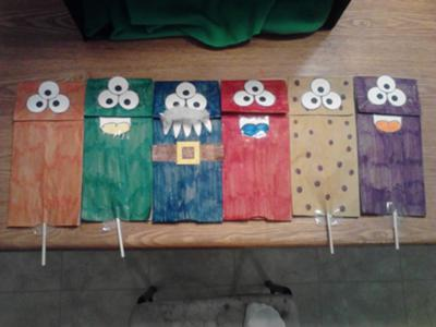 Play Therapy Puppet Show - The Chair Test Puppet Show Picture 2