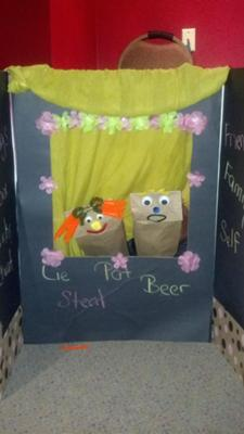 Play Therapy Puppet Theater No. 13