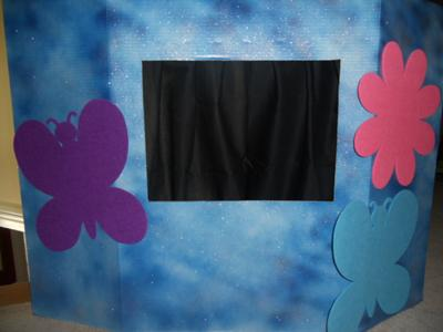 Play Therapy  Puppets- Puppet Theater (Sky is the Limit)