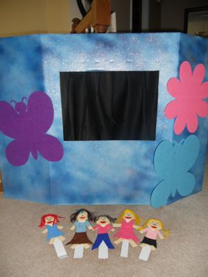 Play Therapy  Puppets- Puppet Theater (Sky is the Limit): All Items
