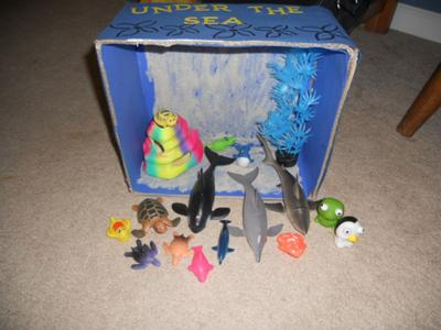 Play Therapy Mystery Counseling Session: Under the Sea Example