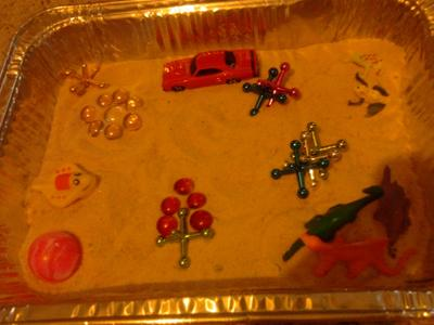 Sand Tray Therapy Project Tray to Use in Sand Tray Therapy