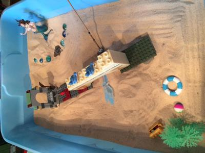 My Sand Tray Therapy Bridge Activity