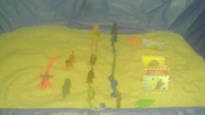 Sand Tray Class Therapy Summer-Maslow's Hierarchy Self Actualization Journey-Student #11 : Example 2