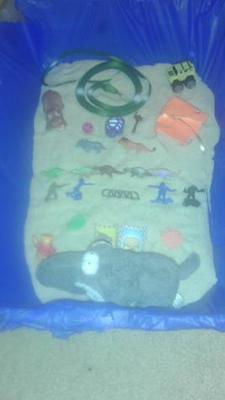 Sand Tray Therapy Class Summer-Maslow's Hierarchy Self Actualization Journey-Student #11 : Example 3