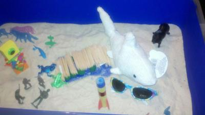 Sand Tray Therapy Experience from a school counselor